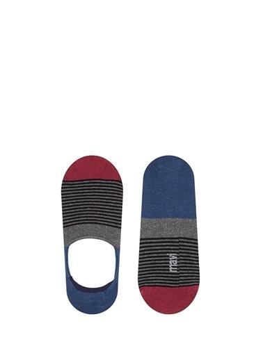 Mavi Çorap Gri